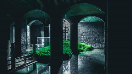 Itsukushima – performance af Tobias R. Kirstein i Cisternerne