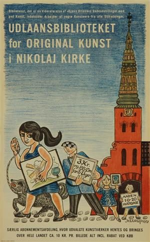 Talen – fejring af Kunstbibliotekets 60-års jubilæum