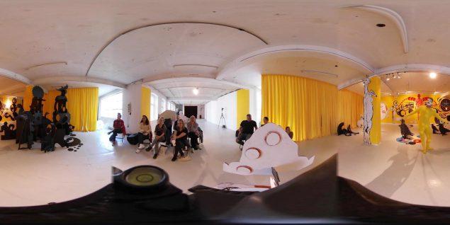 Millimeter – Virtual Reality for performancekunst Liveart.dk