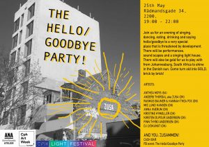 Anthea Moys: The Hello/Goodbye Party Project