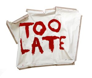 Thierry Geoffroy: TOO LATE