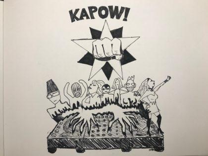Art Bar: Fernisering og KaPow Collective på Den Frie Udstillingsbygning
