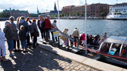 Nettobåd påstigning