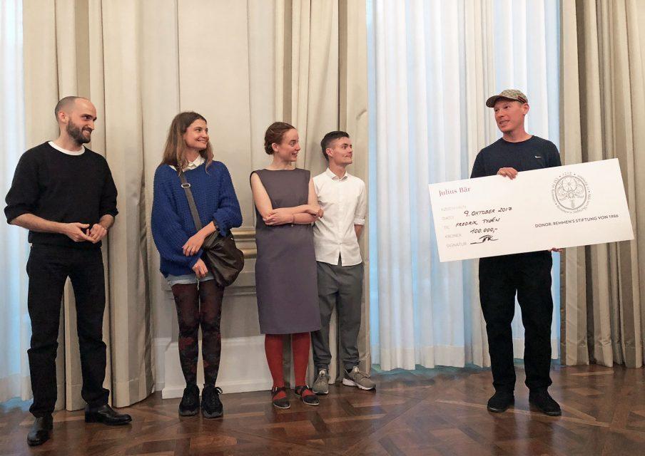 Art Week åbner med Remmen Fondens Kunstpris til unge kunstnere