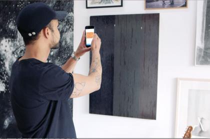 Art Week Copenhagen collaboration with the art collector app Artland