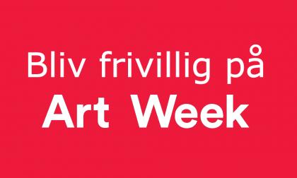 Art Week søger frivillige