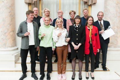 Kirsten Astrup og Maria Bordorff modtager Remmen Fondens Kunstpris