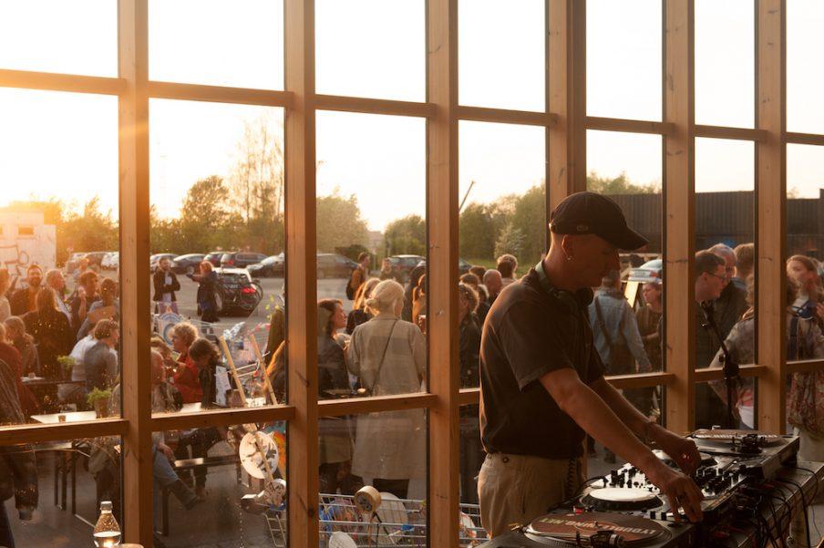Billeder fra Art Weeks åbningsfest