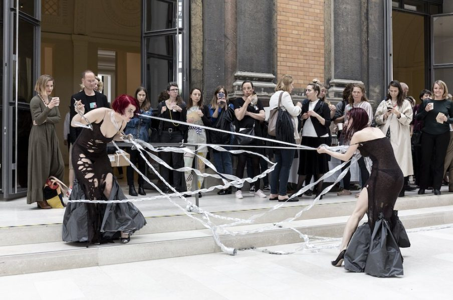 Performance by New Noveta at The National Gallery of Art. Photo: Ingvar Mulvad