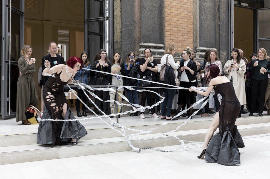 Seminar om performancekunst på SMK. Foto: Ingvar Mulvad