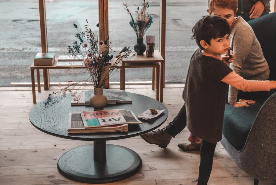 Art Bar for children at Copenhagen Contemporary. Photo: Elina Kamby.