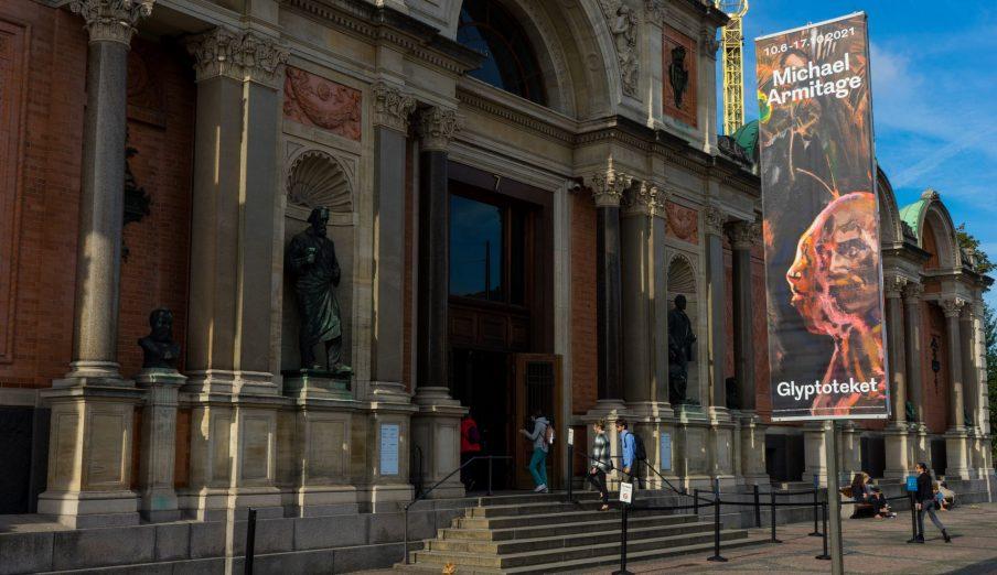 Glyptoteket forener samtidskunsten med historien