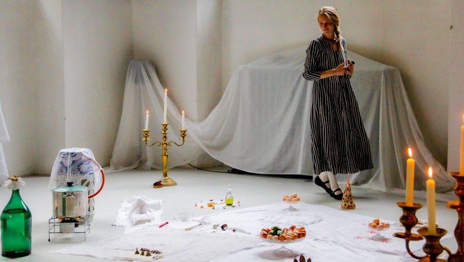 Mad blev kunstens materiale under Art Week